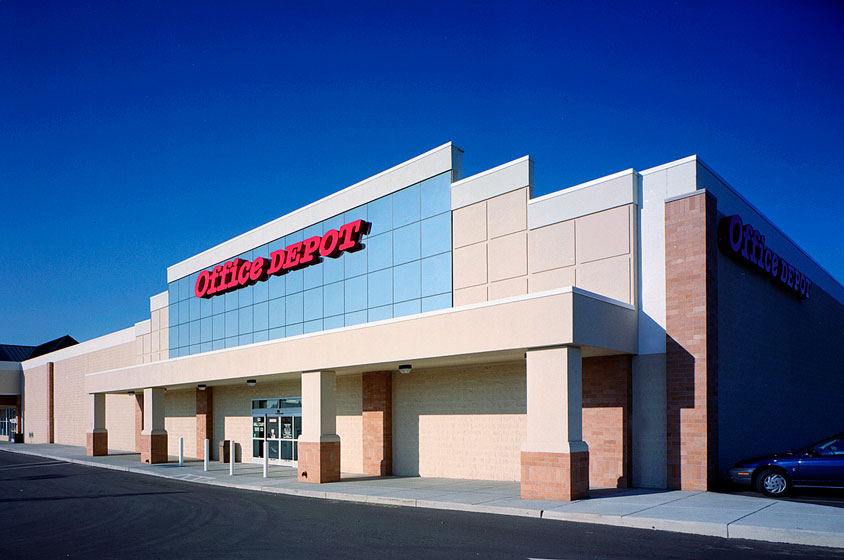 Office Depot, Lansing, Michigan, William Reichenbach Company
